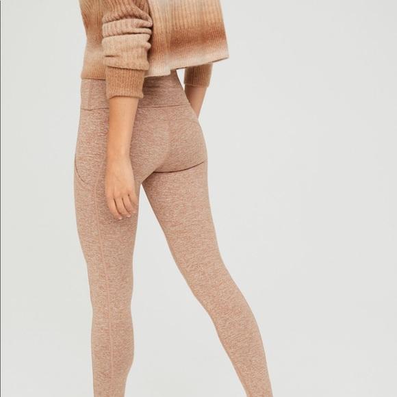 Aerie Offline The Hugger High Waisted Foldover Legging. Size XL Short.